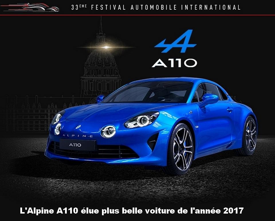 l 39 alpine a110 est la plus belle voiture de l 39 ann e 2017 the automobilist. Black Bedroom Furniture Sets. Home Design Ideas