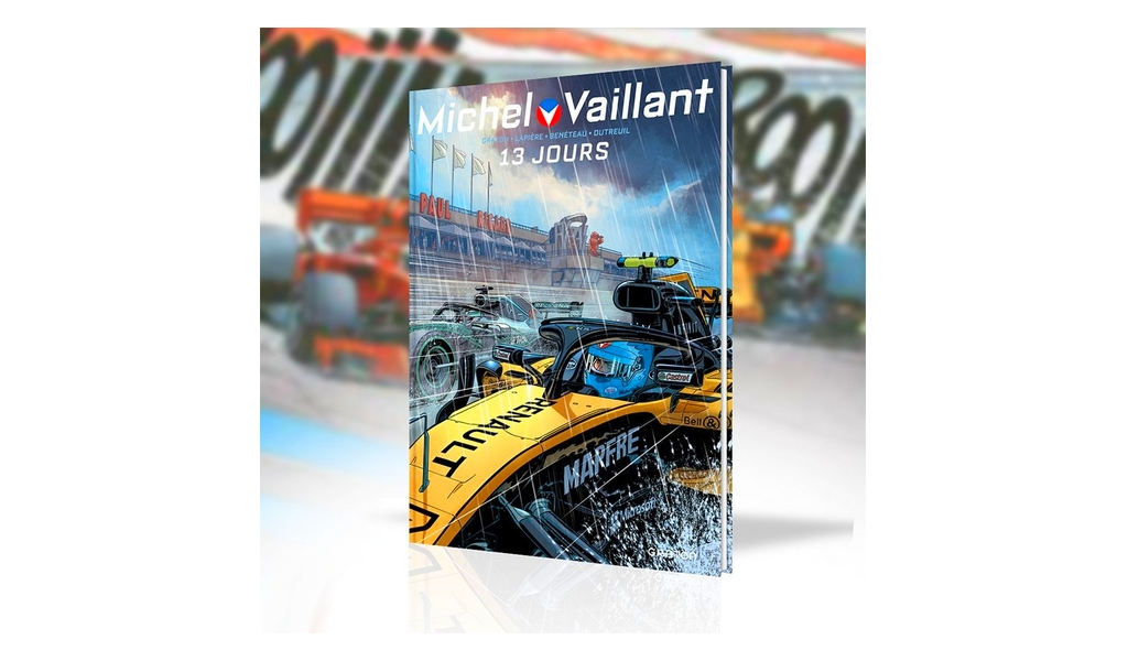 13 Jours Work In Progress Le Livre Qui Annonce Le Nouveau Michel Vaillant The Automobilist