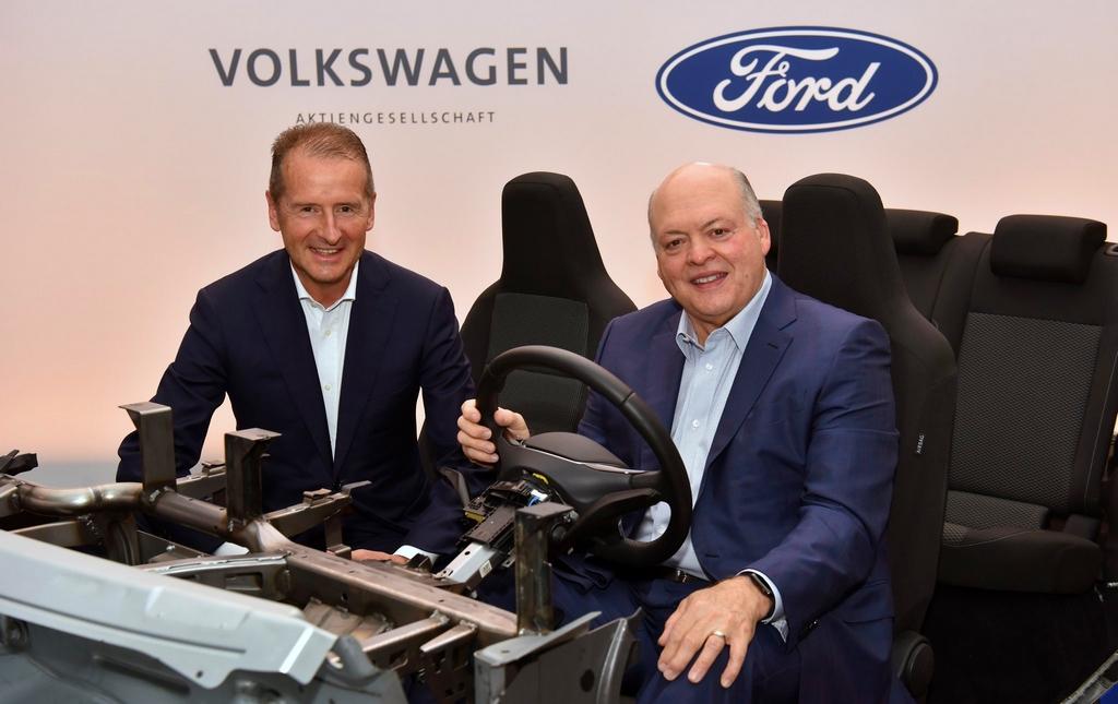 Une voiture électrique issue de la plateforme MEB en 2023 — Ford