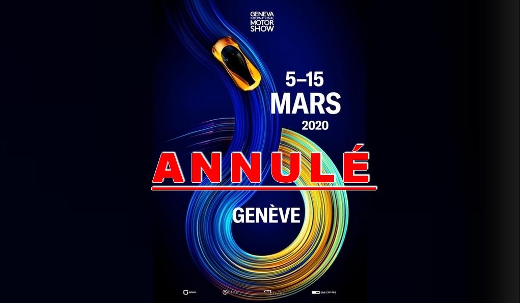 Le Salon de l'automobile de Genève est annulé — Coronavirus