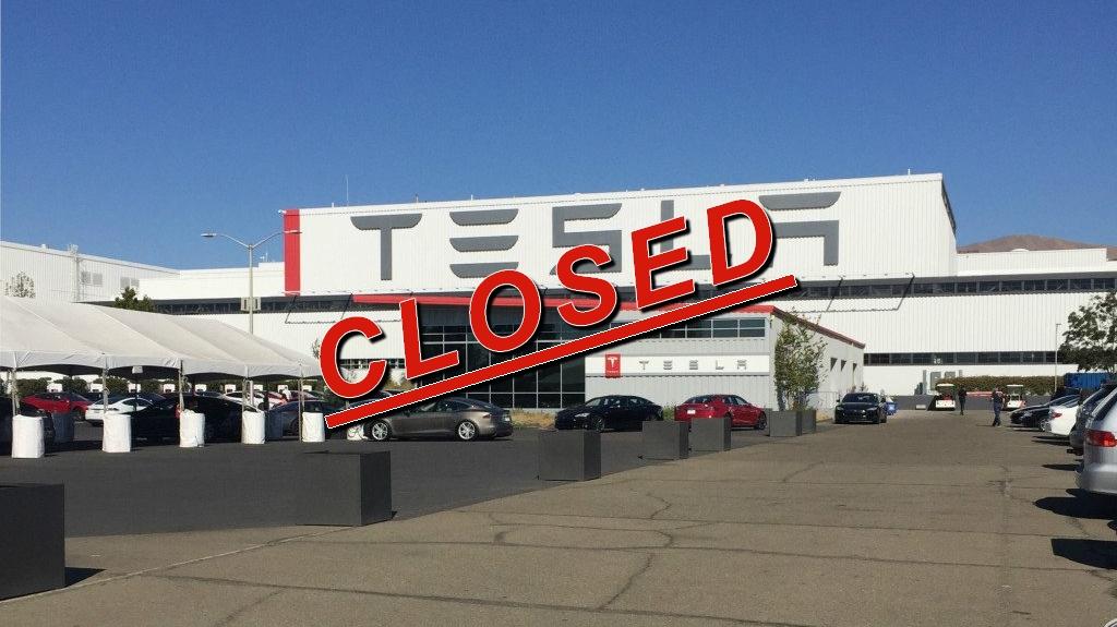 L'usine historique de Fremont mise à l'arrêt — Tesla