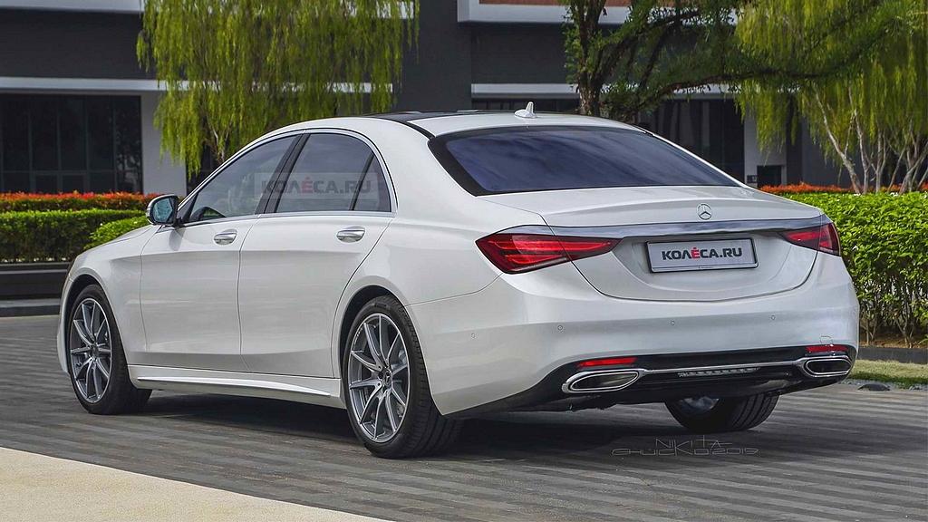 Mercedes-Benz : La Classe S 2021 est officiellement ...