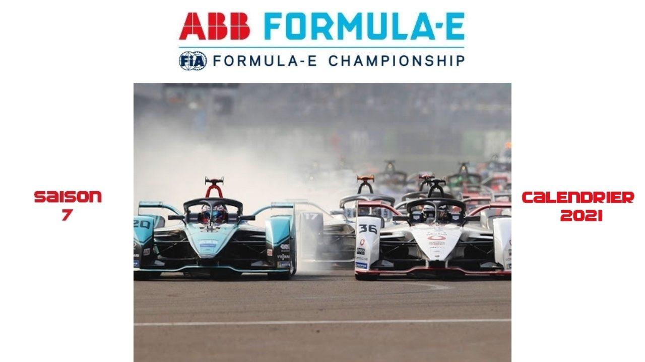 Calendrier Formule E 2021 Formule E : Le calendrier de la saison 2021 est révélé   The