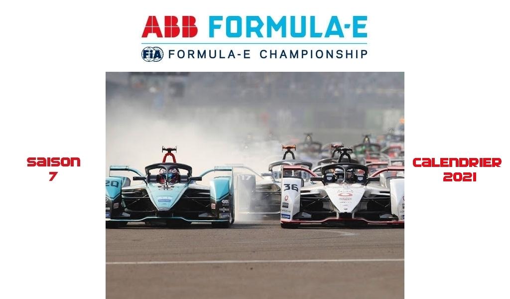 Calendrier Course à Pied 2021 Formule E : Le calendrier de la saison 2021 est révélé   The