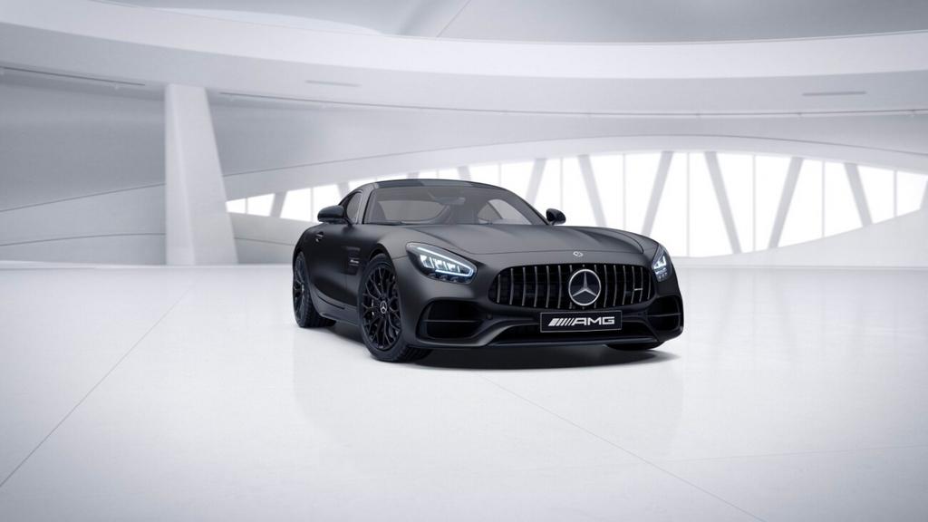 Mercedes Benz L Amg Gt Existe En Version Night Edition The Automobilist